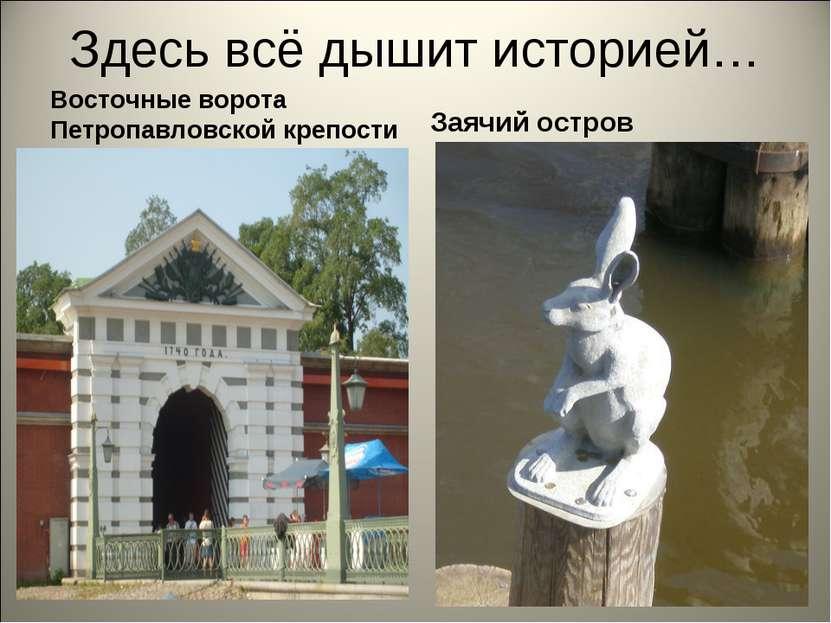 Здесь всё дышит историей… Восточные ворота Петропавловской крепости Заячий ос...