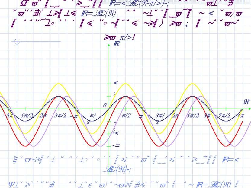 График функции y=2sin(x- /4)-1 получается растяжением y=sin(x) по вертикали в...