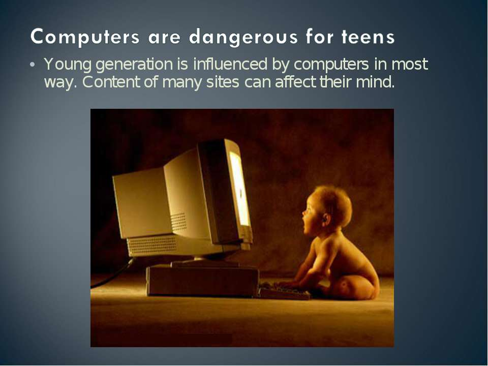 influence of computers on modern life