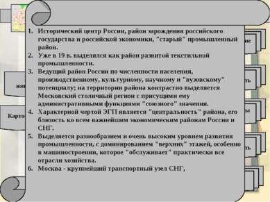 Отрасли специализации Центрального района Машиностроение (26%) Легкая промышл...
