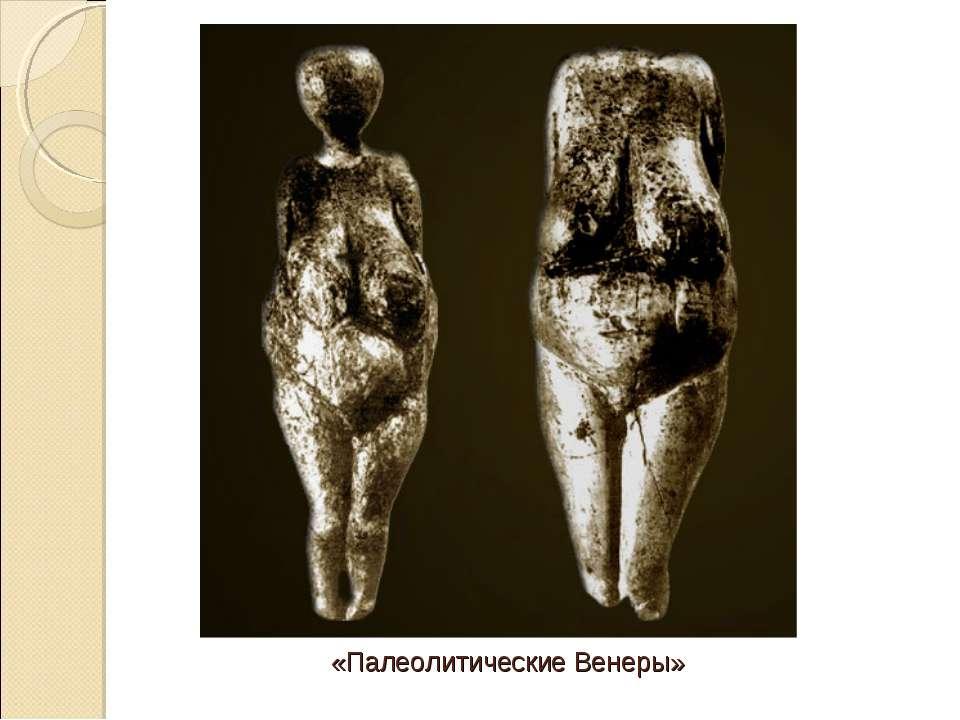 «Палеолитические Венеры»