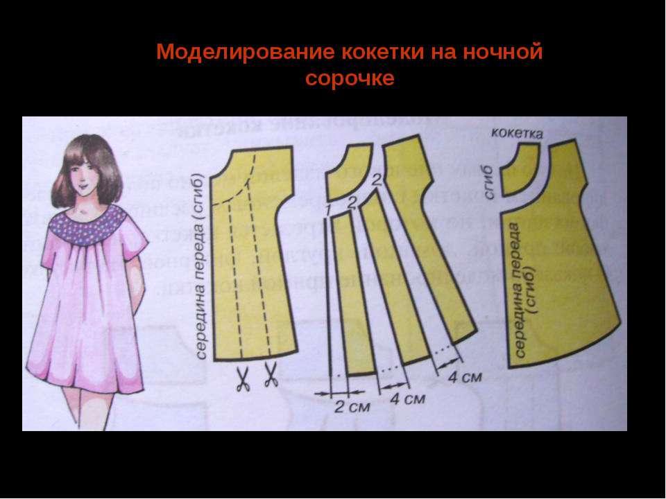 Ночная сорочка 6 класс