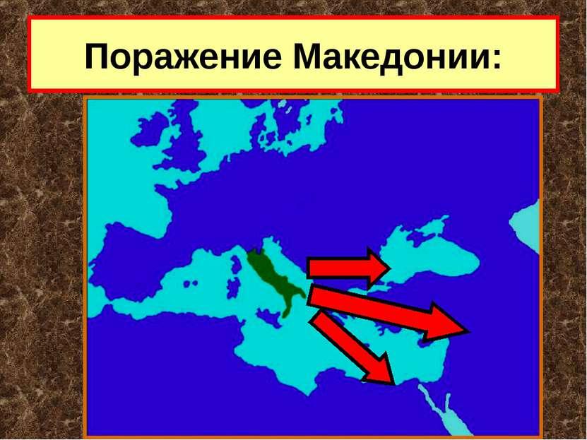 Поражение Македонии: