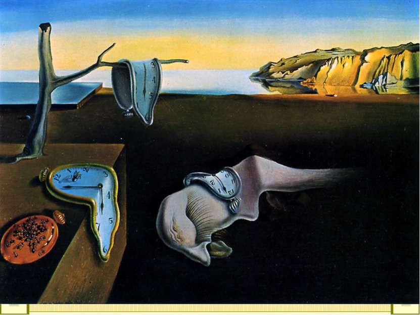 Постоянство памяти Дали С. Испания 1931 США, Нью-Йорк, Музей современного иск...