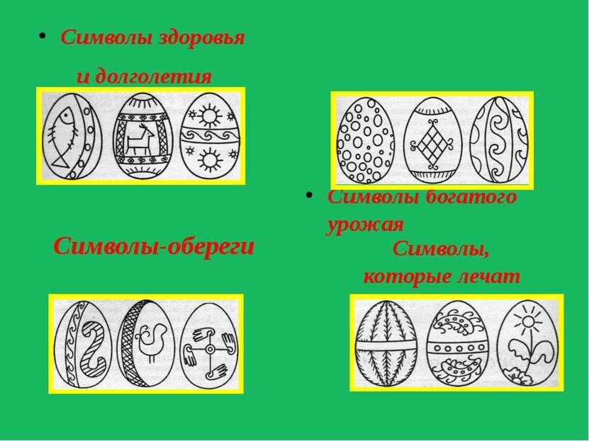 Символы здоровья и долголетия Символы богатого урожая Символы-обереги Символы...