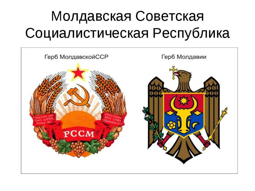 Молдавская Советская Социалистическая Республика