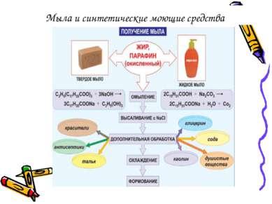 Мыла и синтетические моющие средства