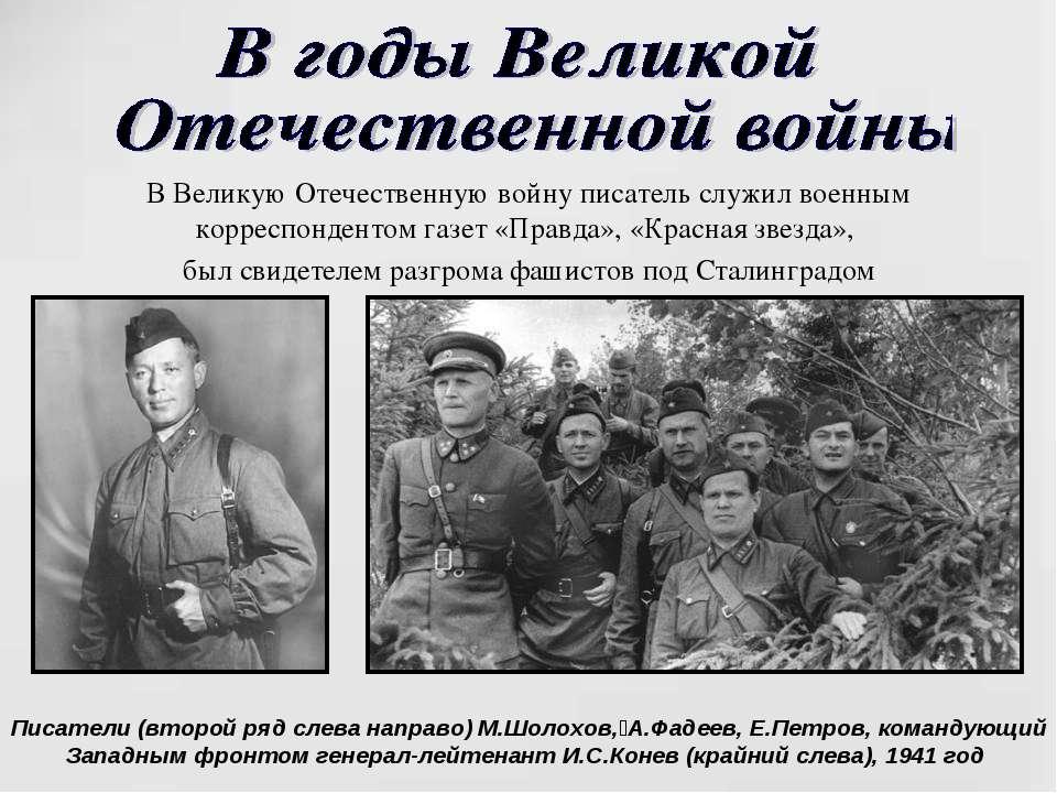 война в изображении шолохова: