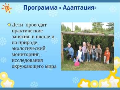 Дети проводят практические занятия в школе и на природе, экологический монито...