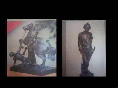 «УПАВШИЙ ВСАДНИК» 19в. Клодт «СУВОРОВ» 1964г. Автор Теплов Н.А.
