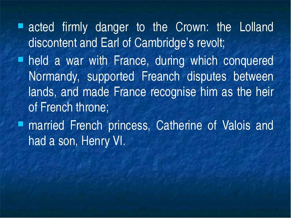 acted firmly danger to the Crown: the Lolland discontent and Earl of Cambridg...