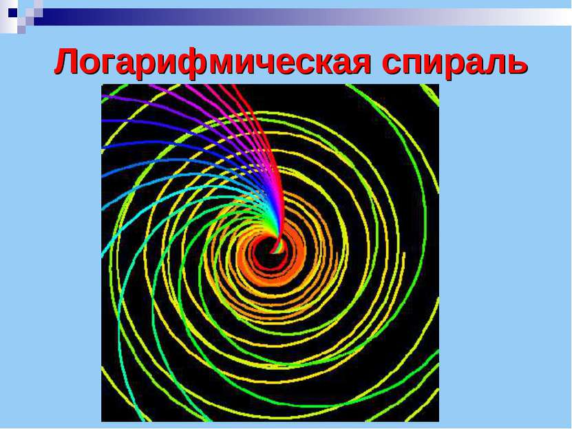 Логарифмическая спираль