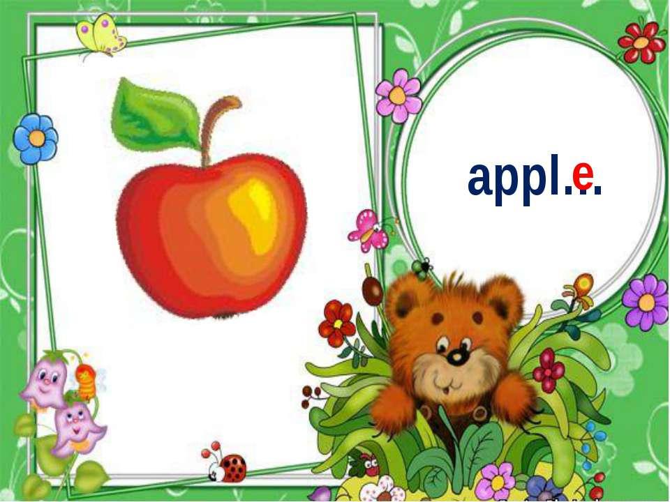 appl… e