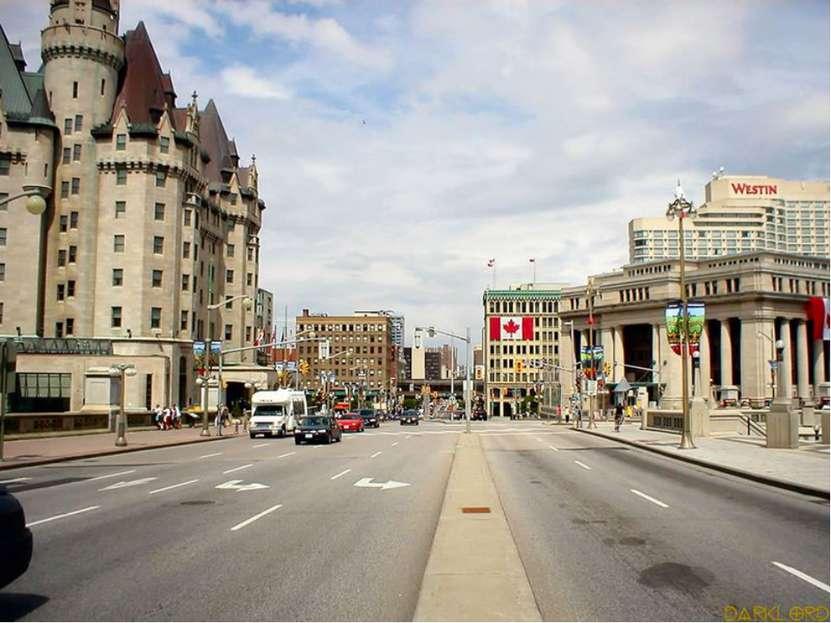 Канада Оттава - столица