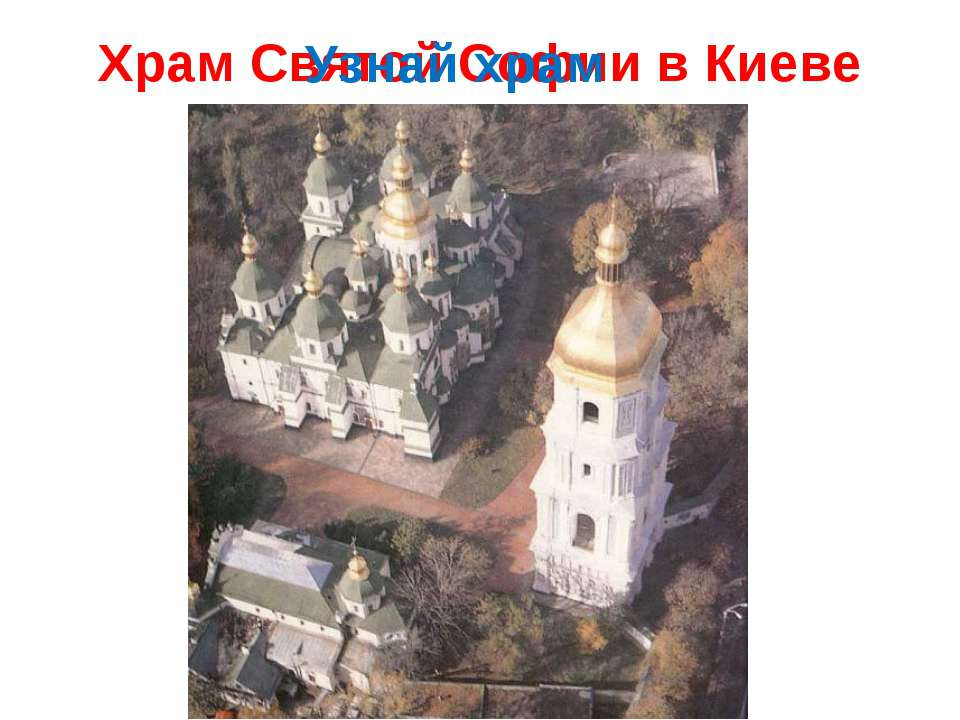 Храм Святой Софии в Киеве Узнай храм