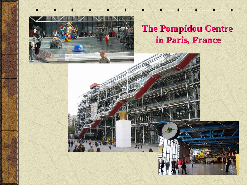 The Pompidou Centre in Paris, France