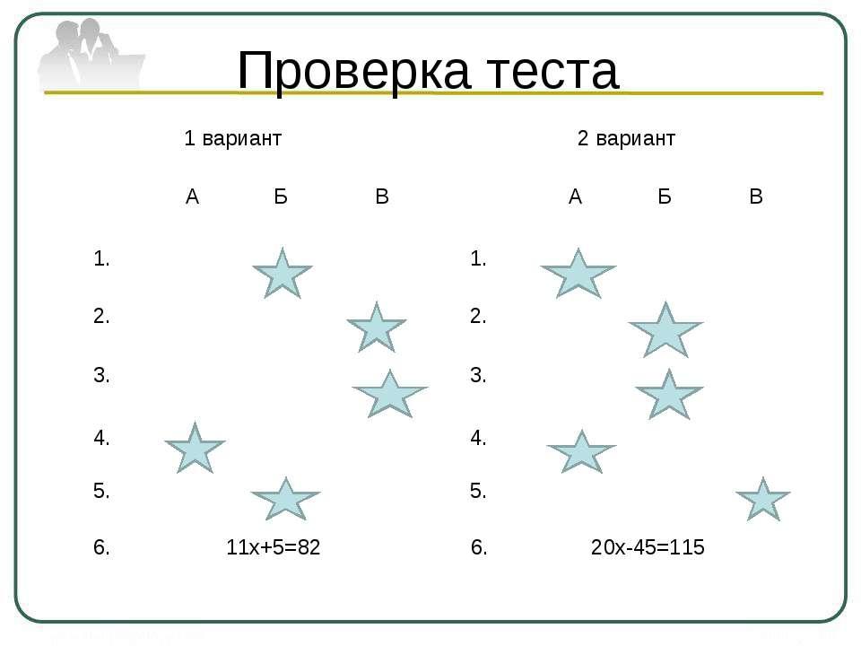 Проверка теста 1 вариант 2 вариант А Б В А Б В 1. 1. 2. 2. 3. 3. 4. 4. 5. 5. ...