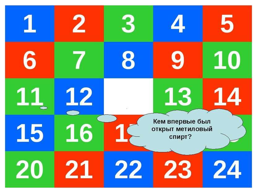 Кем впервые был открыт метиловый спирт? 1 2 3 4 5 6 7 8 9 10 11 12 13 14 15 1...