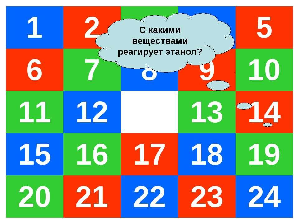 С какими веществами реагирует этанол? 1 2 3 4 5 6 7 8 9 10 11 12 13 14 15 16 ...