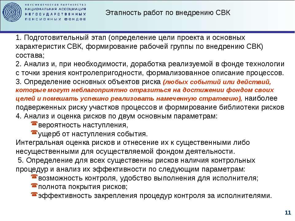 1. Подготовительный этап (определение цели проекта и основных характеристик С...