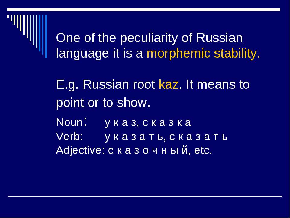 Historical Development Of Russian Is 110