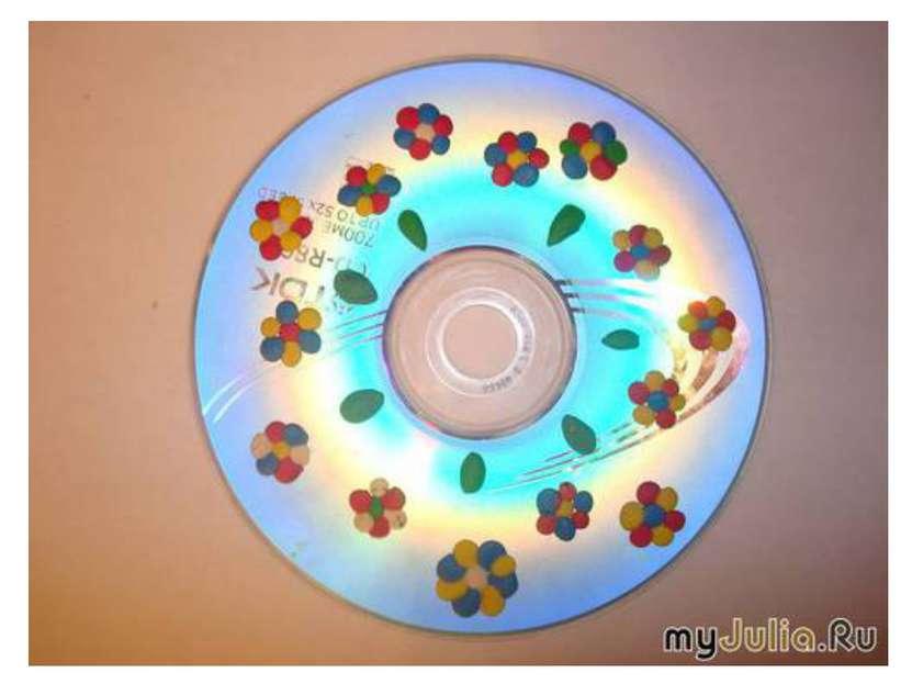 Поделки на диске