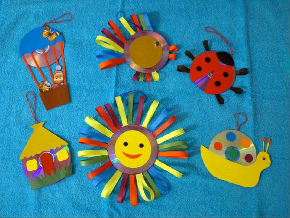 Поделки для детского сада своими руками с фото