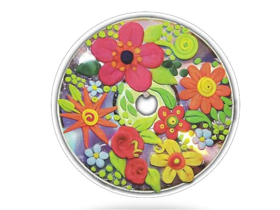 Поделки из дисков для школы