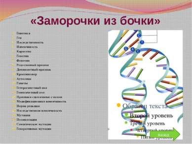 По генетическому следу