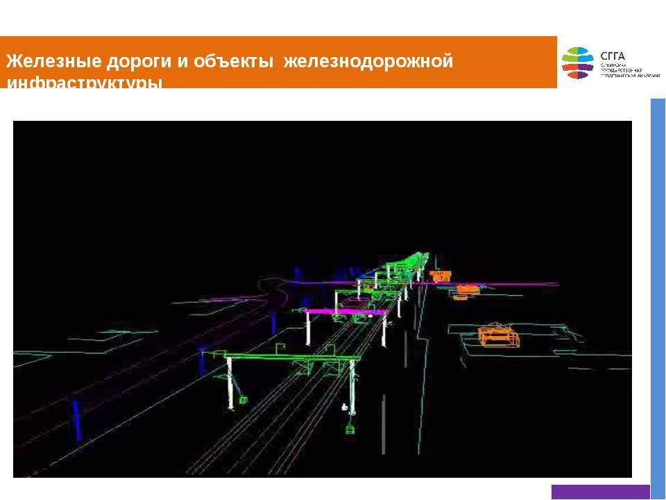 Железные дороги и объекты железнодорожной инфраструктуры