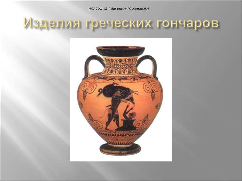 МОУ СОШ №3 Г.Лангепас ХМАО ,Урунова Н.М