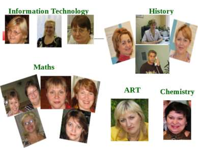 History Maths Information Technology Chemistry ART