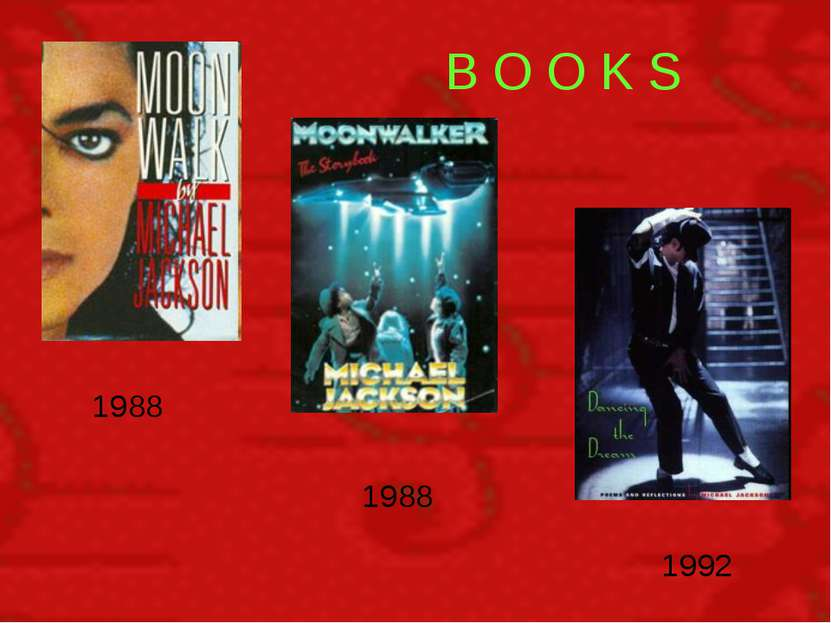 В O O K S 1988 1988 1992