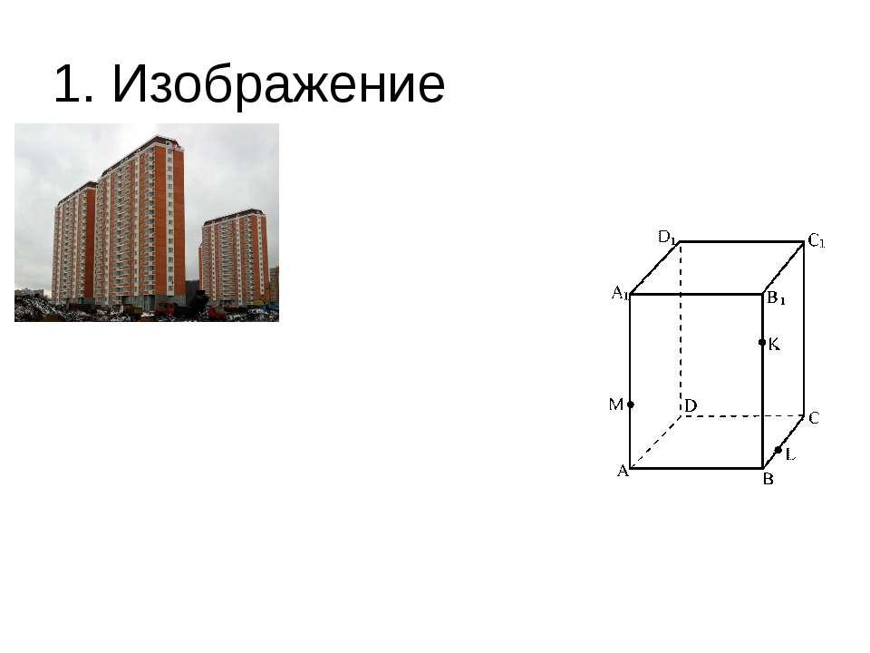 1. Изображение