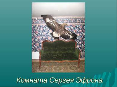 Комната Сергея Эфрона