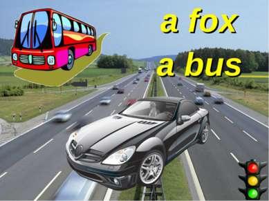 a fox a bus