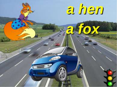 a fox a hen