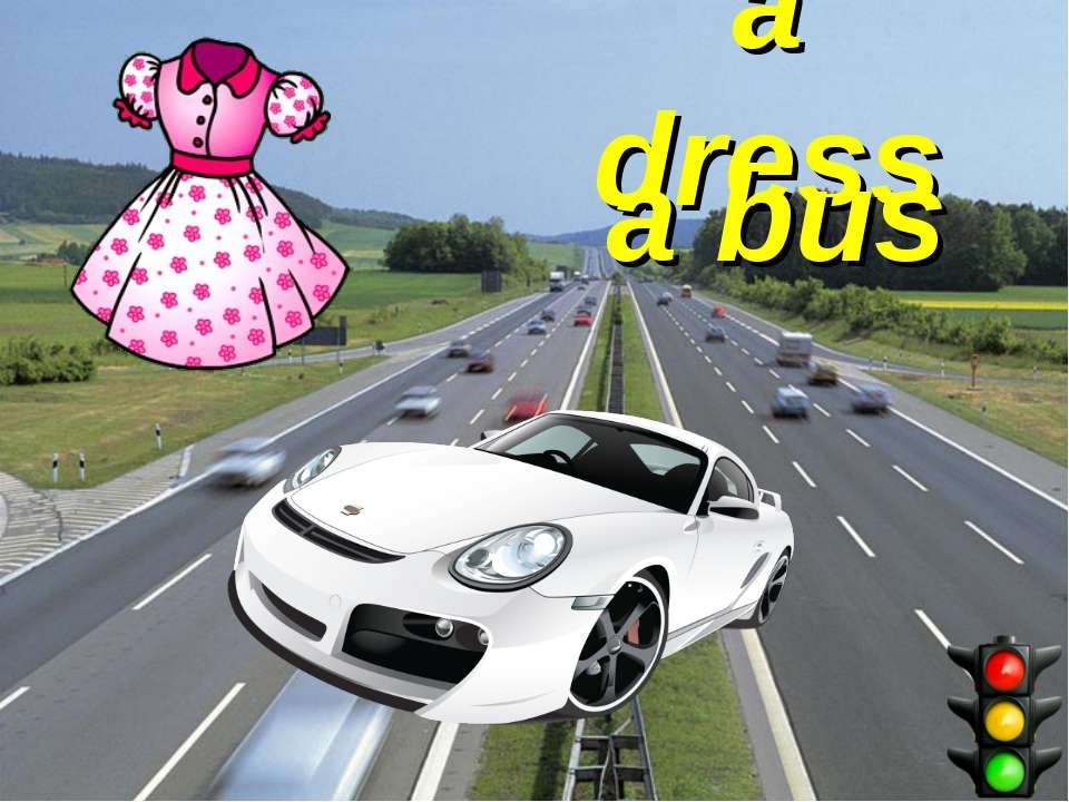 a dress a bus