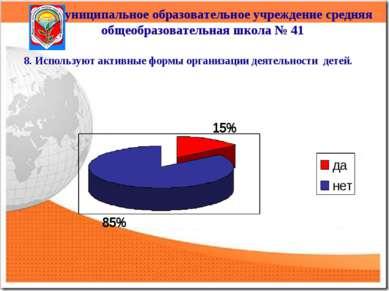 Муниципальное образовательное учреждение средняя общеобразовательная школа № ...