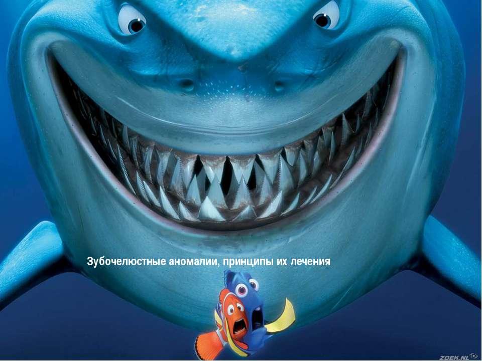 Зубочелюстные аномалии, принципы их лечения