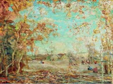 И.И. Бродский. Осень. 1912