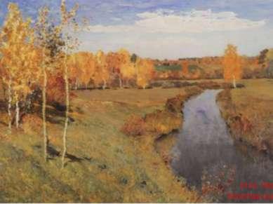 И.И. Левитан. Золотая осень. 1895
