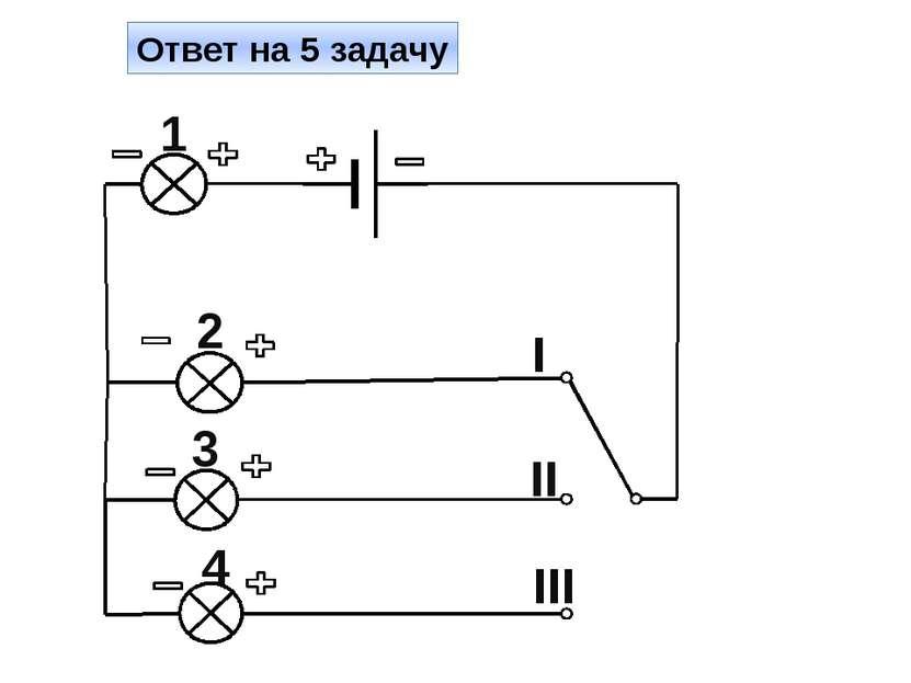 Ответ на 6 задачу II I III