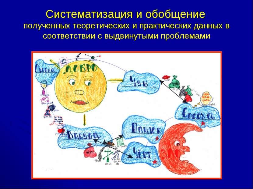 Систематизация и обобщение полученных теоретических и практических данных в с...