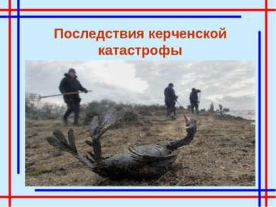 Последствия керченской катастрофы