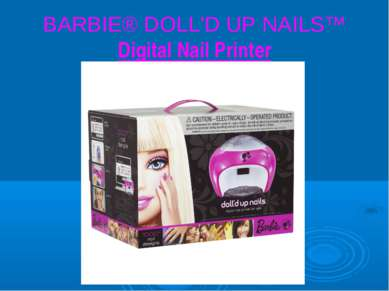 BARBIE® DOLL'D UP NAILS™ Digital Nail Printer