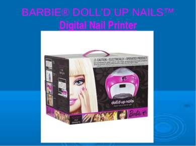 BARBIE® DOLL'D UP NAILS™ Digital Nail Printer
