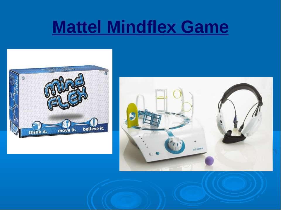 Mattel Mindflex Game