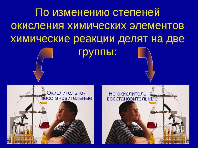 По изменению степеней окисления химических элементов химические реакции делят...