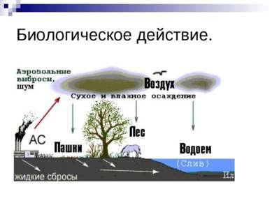 Биологическое действие.